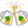 96x96px size png icon of beer clink cheers