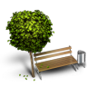 96x96px size png icon of Bench