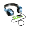 96x96px size png icon of Headphones