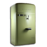 96x96px size png icon of vintage fridge green