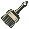 96x96px size png icon of Brush 5