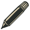 96x96px size png icon of Marker 2