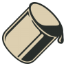 96x96px size png icon of Paint