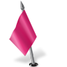 96x96px size png icon of Map Marker Flag 2 Left Pink
