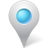 96x96px size png icon of Map Marker Marker Inside Azure