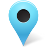 96x96px size png icon of Map Marker Marker Outside Azure