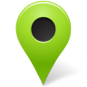 96x96px size png icon of Map Marker Marker Outside Chartreuse