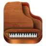 96x96px size png icon of Piano