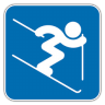96x96px size png icon of Alpine Skiing 2