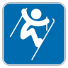 96x96px size png icon of Freestyle Skiing Aerials