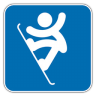 96x96px size png icon of Snowboard