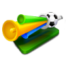 96x96px size png icon of fans horn