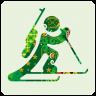 96x96px size png icon of sochi 2014 biathlon