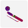 96x96px size png icon of sochi 2014 bobsleigh