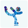 96x96px size png icon of sochi 2014 figure skating