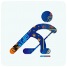 96x96px size png icon of sochi 2014 hockey