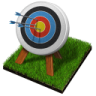 96x96px size png icon of archery