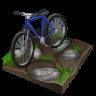 96x96px size png icon of cycling mountain biking
