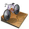 96x96px size png icon of cycling track