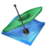 96x96px size png icon of kayak sprint