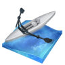 96x96px size png icon of rowing