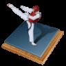 96x96px size png icon of taekwondo