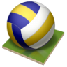 96x96px size png icon of volleyball