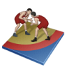96x96px size png icon of wrestling freestyle