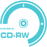 96x96px size png icon of CD RW