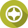 96x96px size png icon of wheel