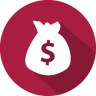 96x96px size png icon of currency