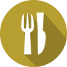 96x96px size png icon of dinner