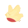 96x96px size png icon of Birdie