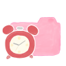 96x96px size png icon of Folder Candy Clock