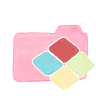 96x96px size png icon of Folder Candy Windows