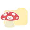 96x96px size png icon of Folder Vanilla Mushroom