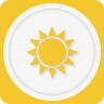 96x96px size png icon of sun