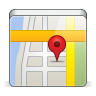 96x96px size png icon of app map
