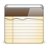 96x96px size png icon of app note