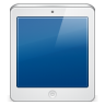 96x96px size png icon of ipad white