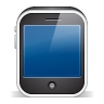 96x96px size png icon of iphone3gs black