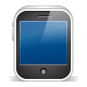 96x96px size png icon of iphone3gs white