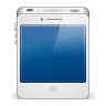96x96px size png icon of iphone4 white
