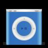 96x96px size png icon of ipod nano blue