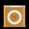 96x96px size png icon of ipod nano orange
