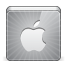 96x96px size png icon of social apple