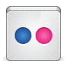 96x96px size png icon of social flickr