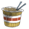 96x96px size png icon of Ramen