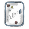 96x96px size png icon of Whiteboard
