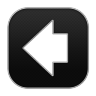 96x96px size png icon of Arrow Back 3